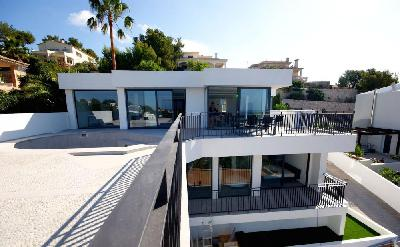 Modern newly build villa with sensational sea views in Costa den Blanes